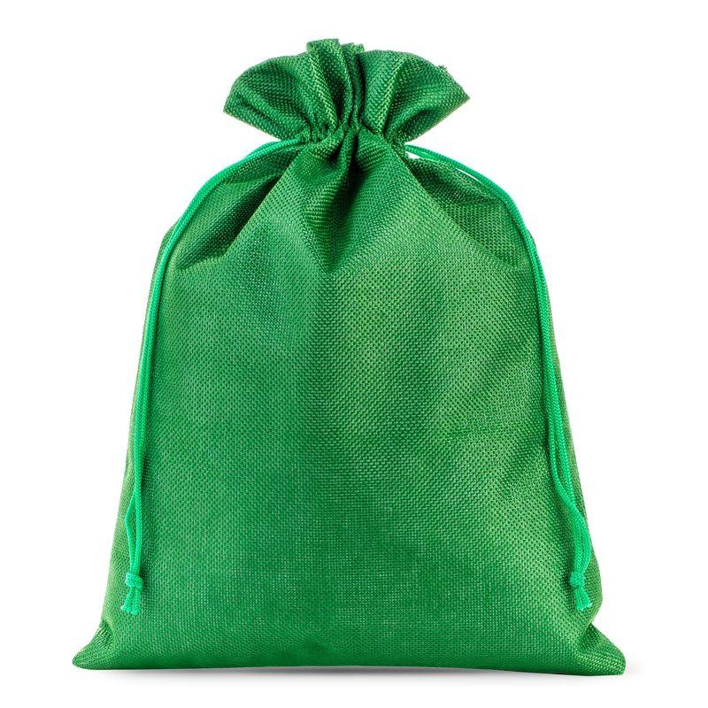 1 pièces Sacs de jute 26 x 35 cm - vert