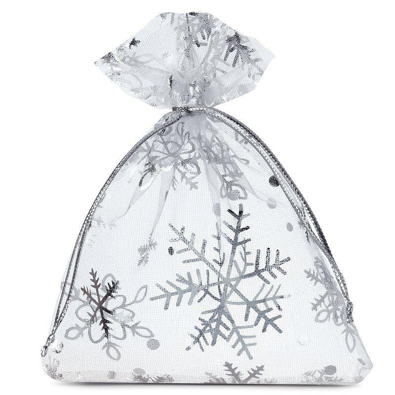 10 pièces Sacs en organza 8 x 10 cm - Noël / 2