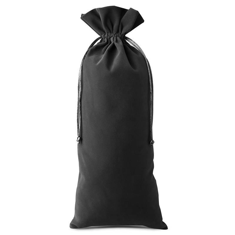1 pièce Sac en velours 16 x 37 cm - noir