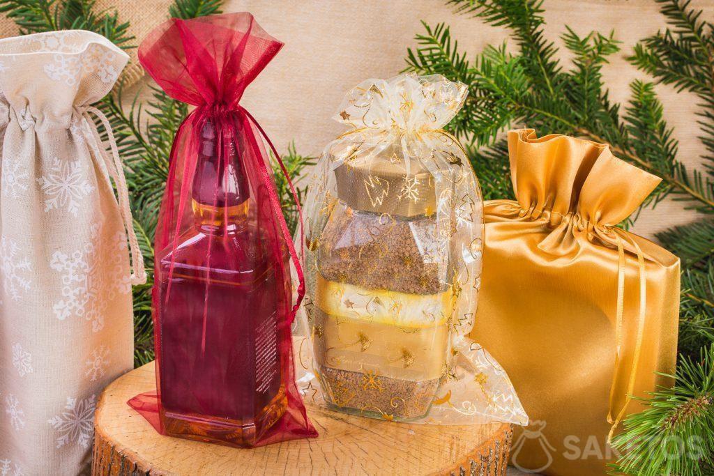 Grâce aux sachets chaque cadeau attire les regards pour plus longtemps!