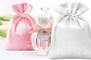 Les sachets cadeaux pour des parfums.