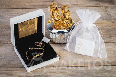 Une pochette à bijoux s'adapte idéalement au style de chaque intérieur.