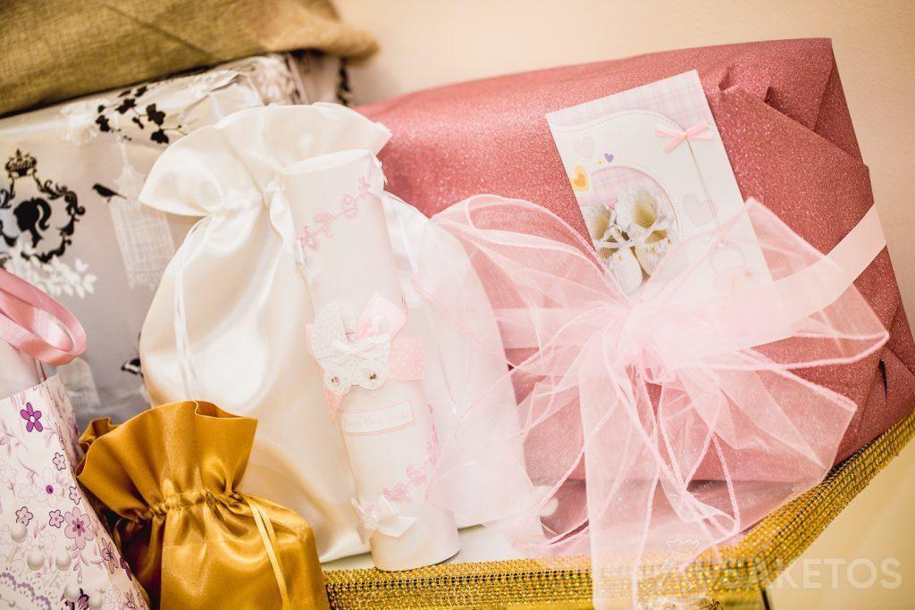 Les sachets sont parfaits comme l'emballage des cadeaux, p.ex.: de baptême