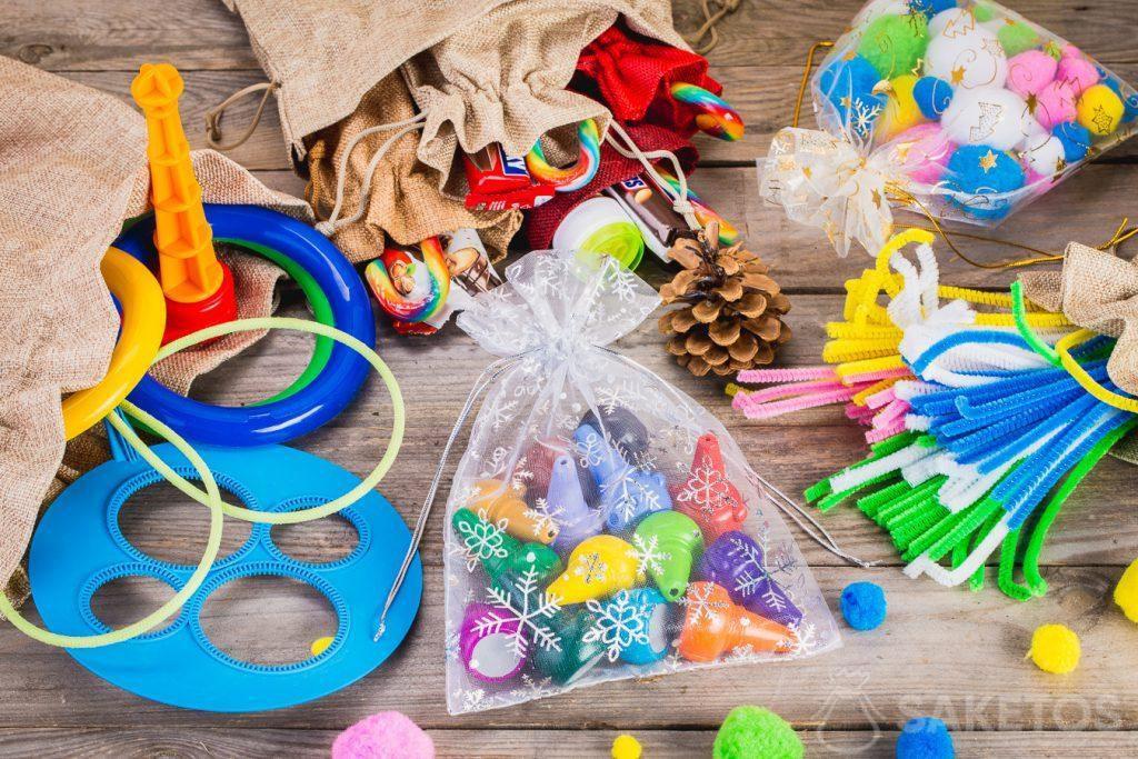 Les sachets sont parfaits pour y stocker des jouets.