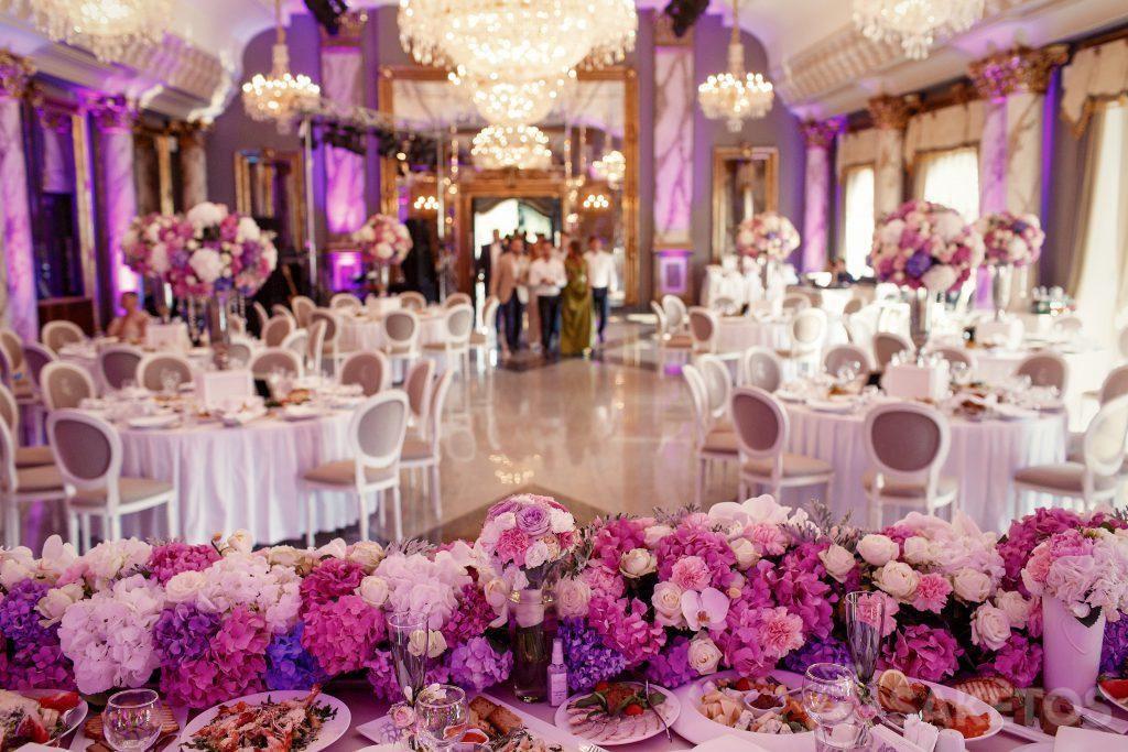 3.La couleur principale de mariage - comment décorer la salle de réception?