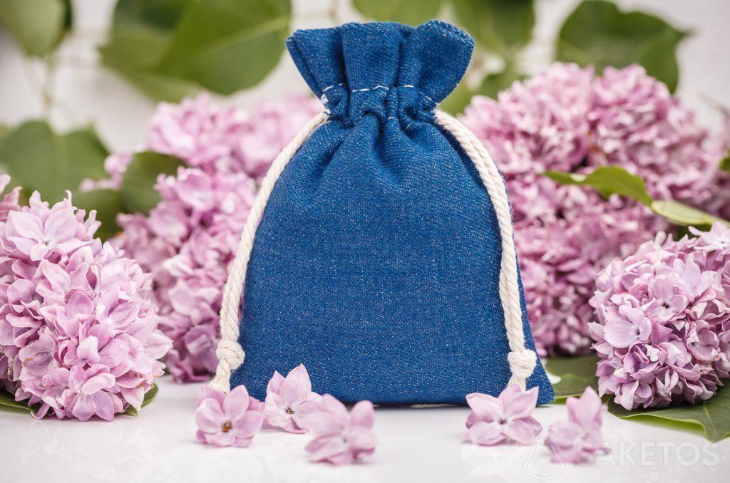 Sac en jean décoratif