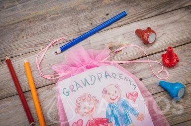 Laurel pour grands-parents emballé dans un sac