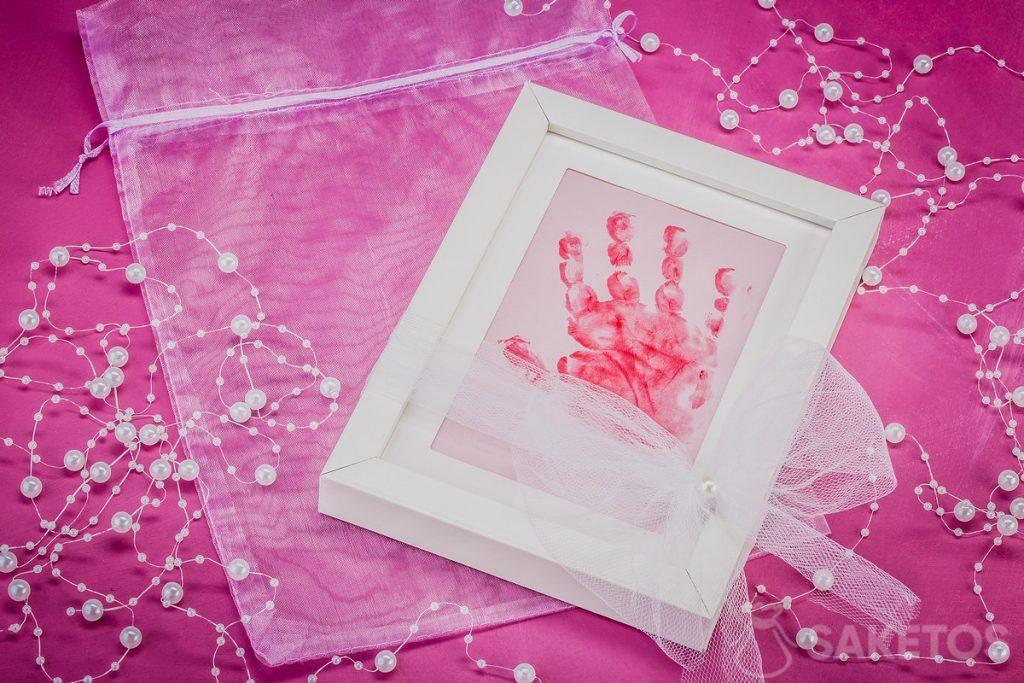 Cadre avec poignée enfant imprimée