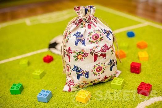 Sac décoratif pour chambre d'enfant pour blocs Lego Duplo