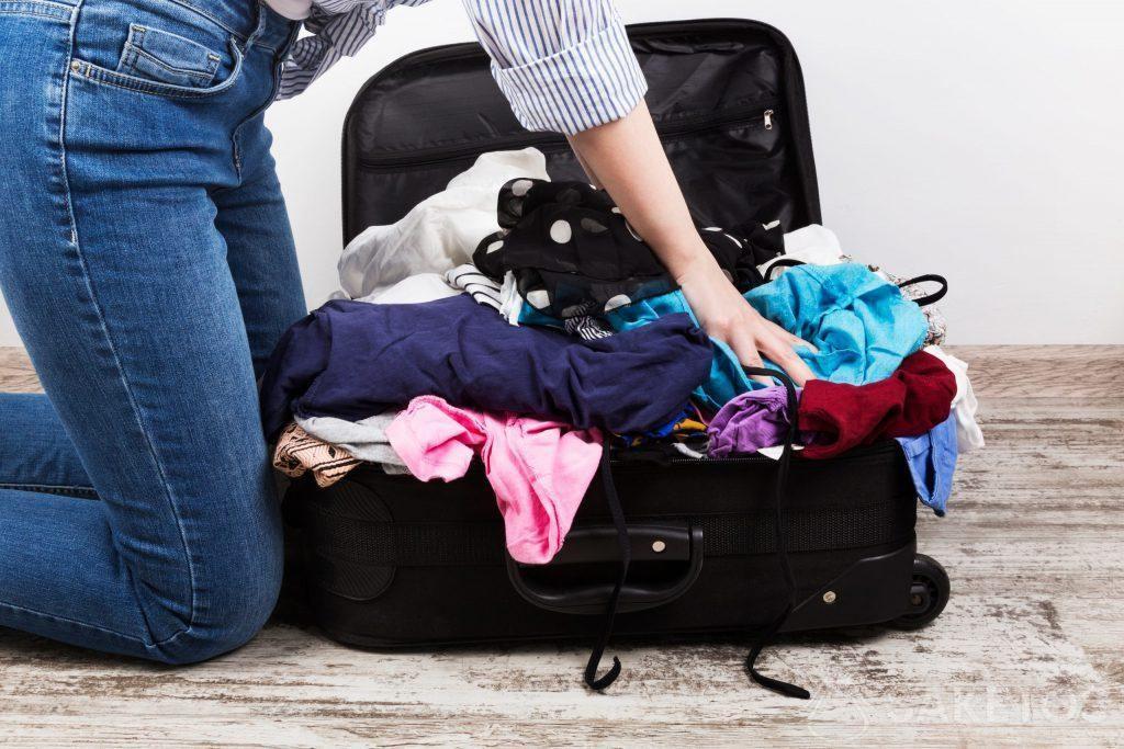 Trucs pour faire la valise intelligemment.