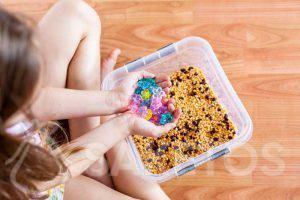 4. Les jeux sensoriels pour enfants