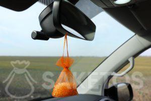 Sachet de silica gel –une odeur rafraîchissante dans votre voiture