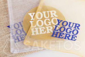 Les sachets avec votre logo- vente en gros