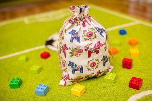 7.Le sachet décoratif pour une chambre enfant pour les briques Lego Duplo