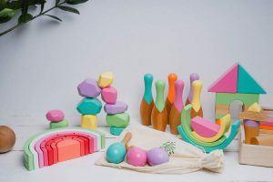 2.Les jouets en bois pour enfants