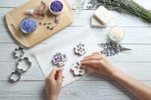 La décoration du savon fait maison