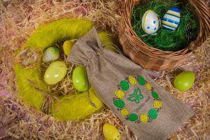 Les emballages pour des cadeaux d'affaires de Pâques
